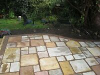fixed price -sand stone paving supply and fit ��60 a square meter