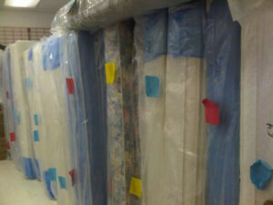 BRAND NEW MATTRESSES AND BOX SPRINGS, BED FRAMES AS WELL