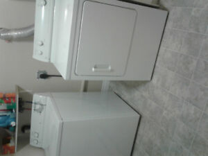GE Super Capacity Washer and Dryer