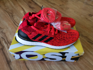 Adidas Ultra Boost Uncaged Red Olympics Edition UK11 US11.5