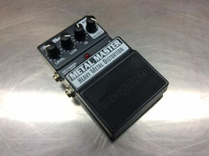Pédale distortion guitare DIGITECH Metal Master    #F021599
