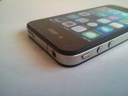 iPhone 4s 32gig black unlocked Muswellbrook Muswellbrook Area Preview