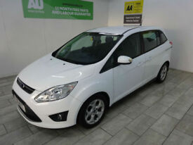 2011,Ford Grand C-MAX 1.6TDCi 113bhp Zetec***BUY FOR ONLY £36 PER WEEK***