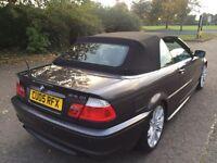 BMW 318CI M SPORT CONVERTIBLE £3200 ono
