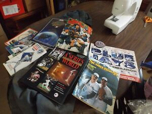Blue Jays books and magazines from 1992