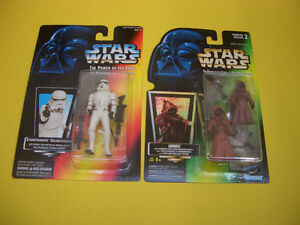 (12) STAR WARS POTF/EPISODE 1 FIGURES FROM 1995, 1996 AND 1999 London Ontario image 7