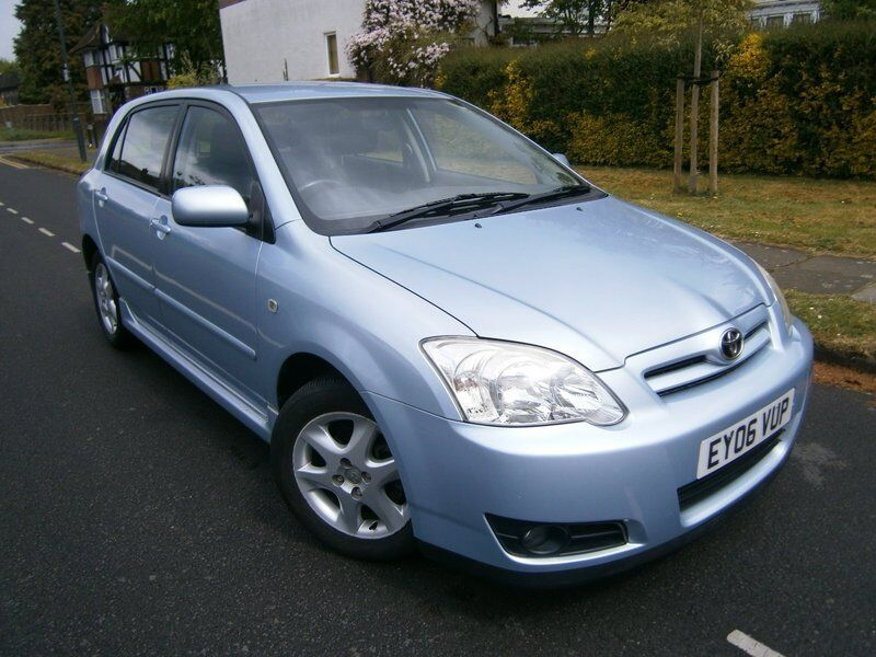 Toyota Corolla 1.4 VVT-I COLOUR COLLECTION (blue) 2006
