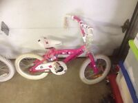 """16"""" Girls bicycle for sale"""