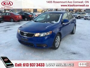 2012 Kia Forte EX  | Low Kms | Local Car | Heated Seats |