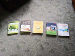 Lightly Used Red River College Textbooks for Business Admin Y2