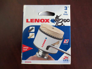 "Brand new Lenox Hole saw 3"" made in USA"