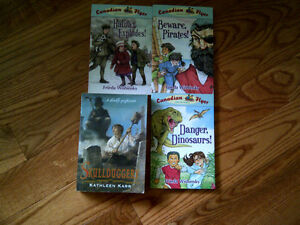 Books (set of 3 Canadian Flyer Adventures series)