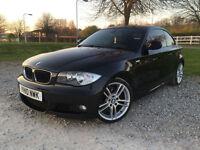 2010 BMW 118 2.0TD M Sport Coupe Diesel Manual in Black
