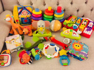 Giant Toy Lot of Brand Name Toys. 18 Toys! Only $30