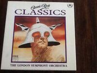 Classic rock collection London symphony orchestra on cassette 5 cassettes