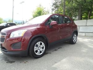 2015 Chevrolet Trax 2015 Chevy Trax FWD Ls, only 4,000 kms