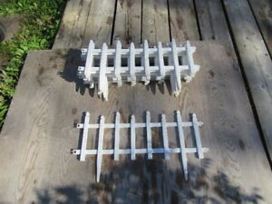 ORNAMENTAL FENCING - WHITE - REDUCED!!!!