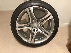 BMW wheels OEM Alloy & winter tires - set of 4