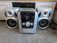 Spares or repair Panasonic stereo with speakers