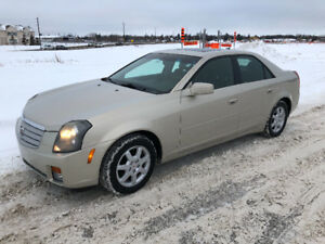 2007 Cadillac CTS - driven with care and includes winter tires