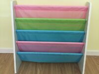 Children's Sling Bookcase - excellent condition
