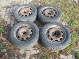 195/65R15 tires on rims for sale London Ontario image 1