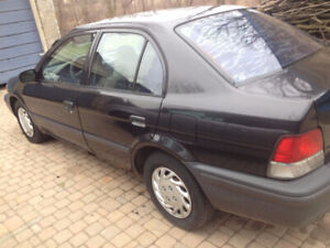 1999 Toyota Tercel CE as parts or fix