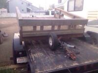 8ft by 6ft utility trailer $800