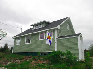 Louisbourg ocean view bungalow