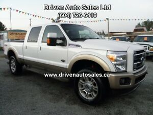 2012 Ford F-350 King Ranch Diesel Crew Cab 4x4 Pickup Truck