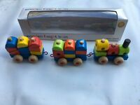 John Lewis wooden train, played with a couple of times