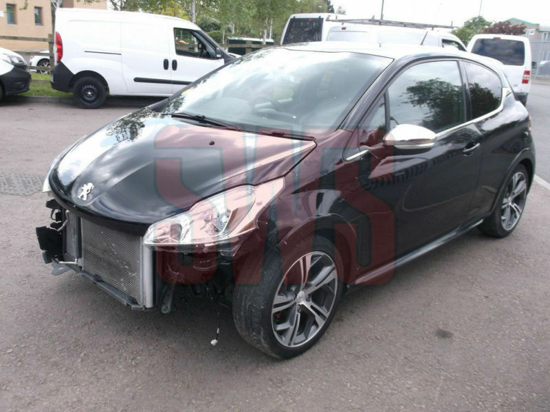 2013 peugeot 208 1 6 thp gti damaged repairable salvage
