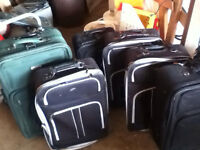 Suitcases (wheels)