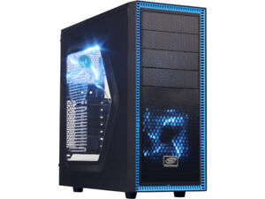 Custom Mid Tower  Desktop with Free ASUS Red LED gaming keyboard