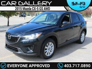 2015 Mazda CX-5 GS AWD $149B/W QUICK  EASY FINANCING-INSTANT APP