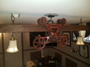 **Rustic-Barn Style Light Fixture** SEND OFFERS