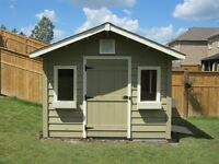 Gorgeous Garden Sheds!
