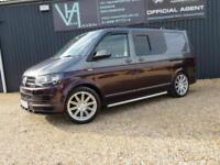 2016 VOLKSWAGEN TRANSPORTER T28 160BHP NOW A FULLY CONVERTED DAY VAN