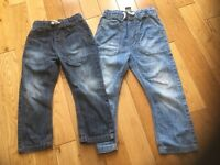 2 pairs of boys jeans from Next Age. 2-3
