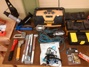 Variety of Hardware Tools & Storage Boxes