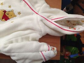 Baby Winnie the Pooh all in one coat