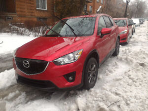 Mazda CX-5 GS 2014  garantie prolongée + roues d'hiver