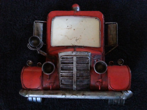 Fire Truck Picture Frame