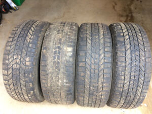 Firestone Winter force Tires 245/65 R17
