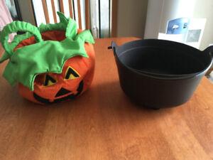 Sac à friandises pour Halloween