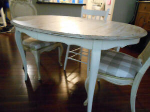 vintage french style dining table