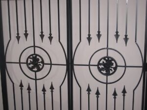 HANDCRAFTED WROUGHT IRON GATES
