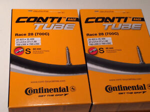 Continental Conti Race 28 700C x 20 - 25C road bike tubes