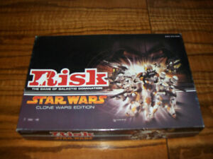 Risk Star Wars Clone Wars Edition Board Game Parker Brothers