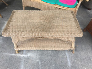 OUTDOOR TABLE CHAIRS & PATIO FURNITURE/LAWNMOWER ETC.